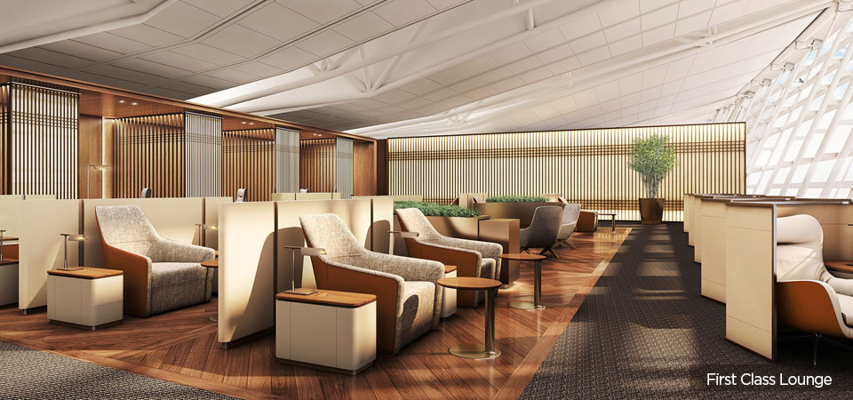 First and Business Class Lounge Renovation