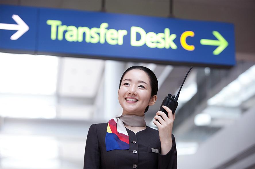 航空運送サービスのユニフォーム1